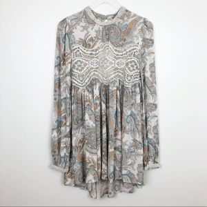 Free People | Sweet Thing Tunic Boho Gypsy Vibes L